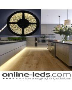 10M (2 x 5M) Warm White Plug and Play - Waterproof LED Strip Lighting Kit SMD 5050 - High Brightness